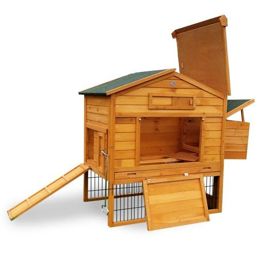 poulailler en bois 2/4 poules lbh jardin – lodge