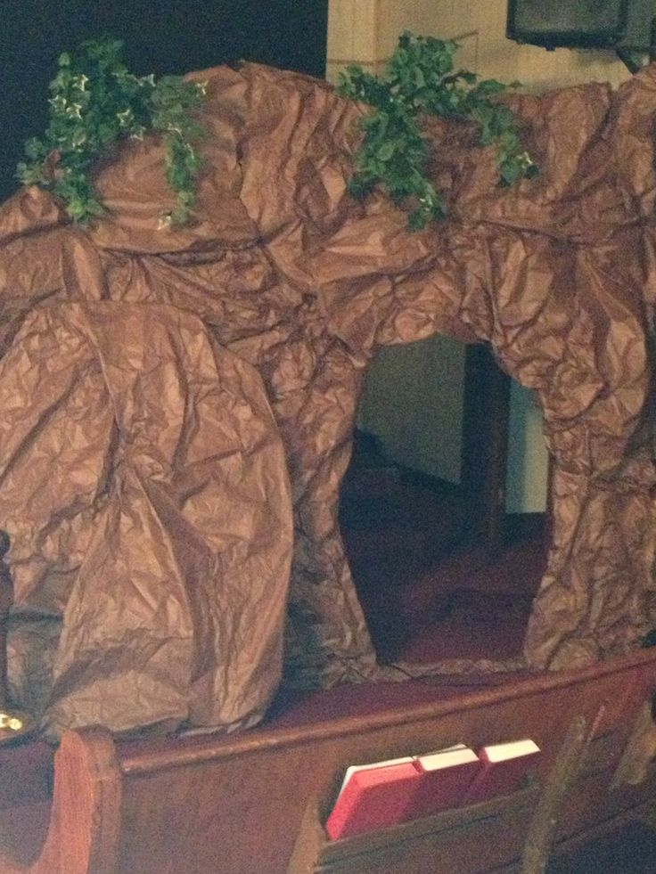 Empty tomb...Jesus was in the house