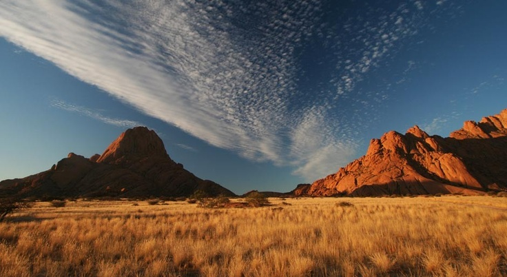 Magical Spitzkoppe in Namibia - one of the best camping spots in the country.