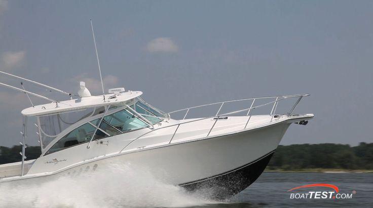 The popular Albemarle 360 Express Fisherman has gotten an updated propulsion system – Volvo Penta IPS600. #albemarle