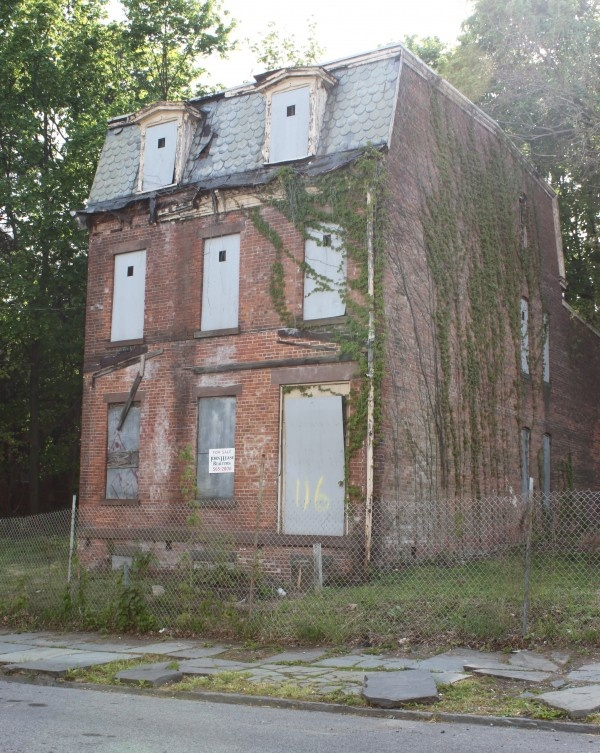 Abandoned Home in Newburgh, NY.