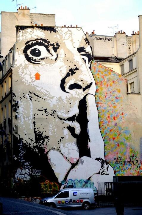 Paris Beaubourg - street art