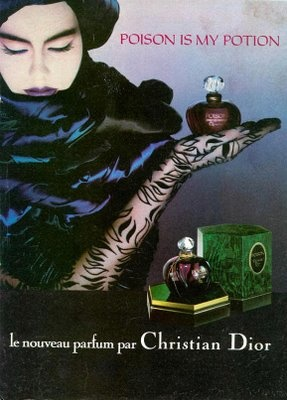 One of  my ultime faviorite scents. Christian Dior Poison perfume