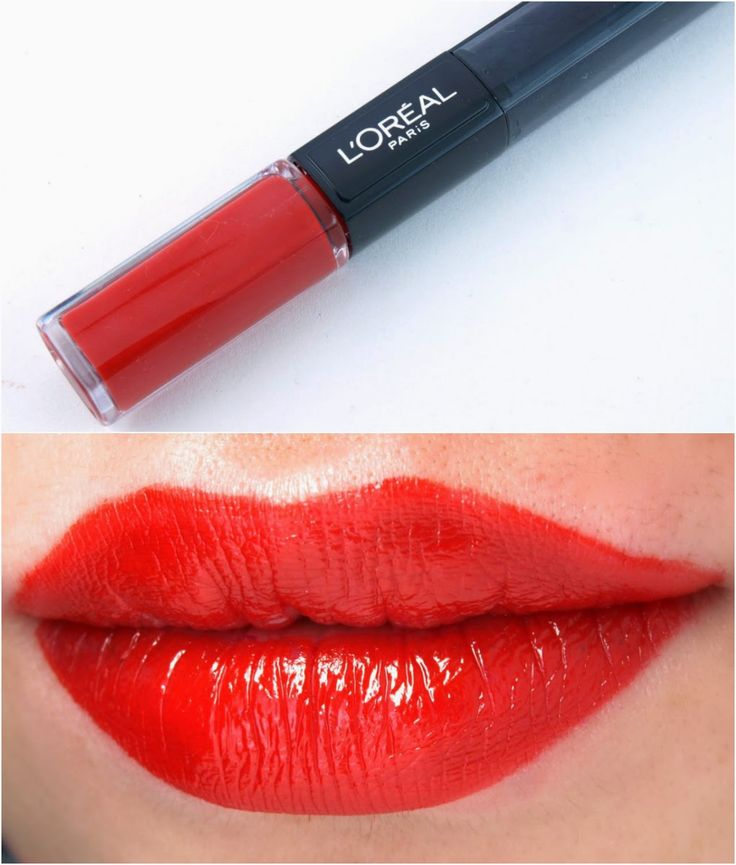 L Oreal Infallible 2 Step Lipcolor Review And Swatches
