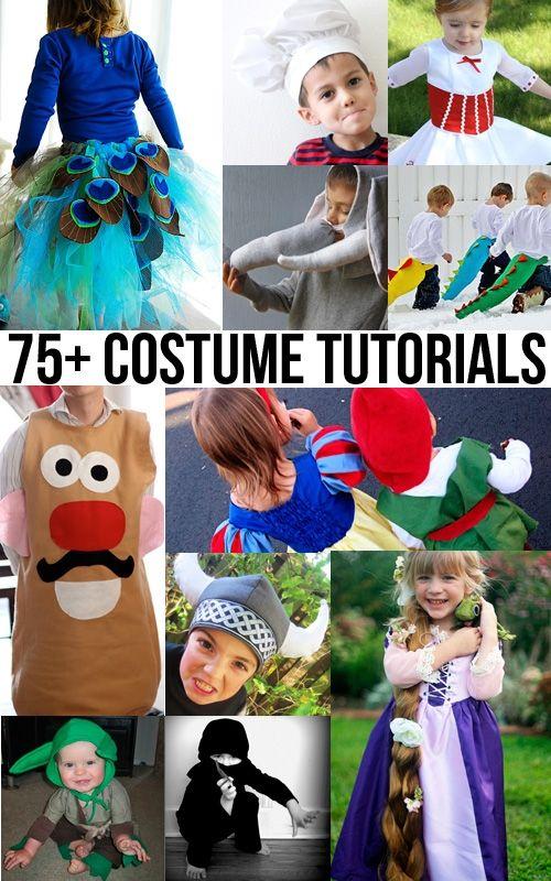 75  DIY Halloween Costume Tutorials Roundup