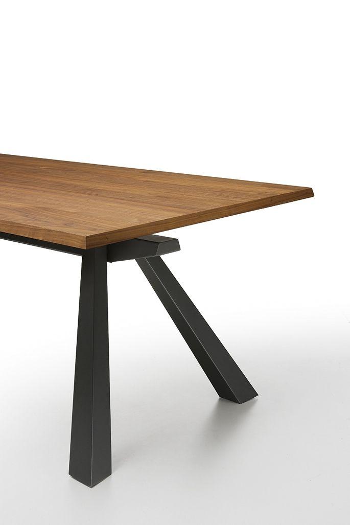 zeus midj design zeus ein rechteckiger tisch der sowohl als fester als auch als ausziehbarer tisch erhltlich ist zeus eignet sich fr einen speisesaal - Erweiterbar Runden Podest Esstisch