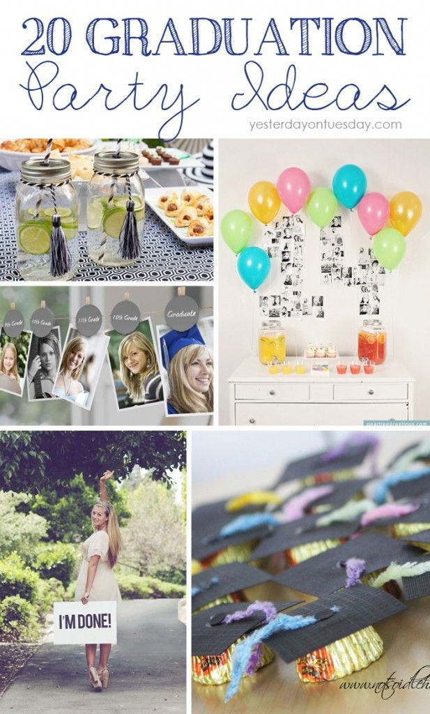 20 Graduation Party Ideas for all ages!