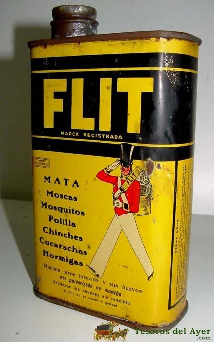 FLIT - vintage tin