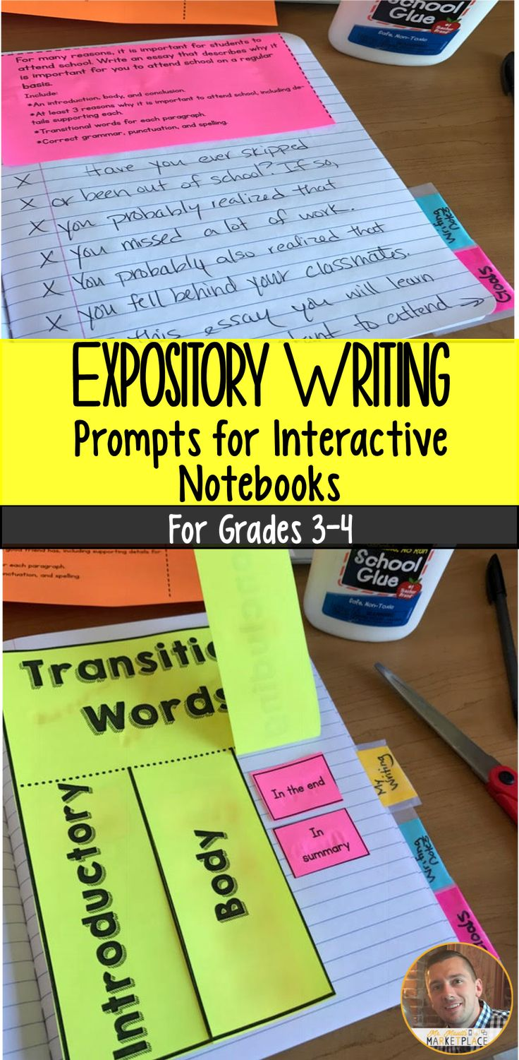 17 best ideas about expository writing prompts expository informational writing prompts for interactive notebooks grades 3 4