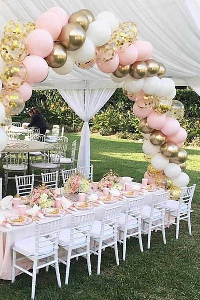 21 Insanely Cute Wedding Ideas In 2020 Wedding Forward In 2020 Balloon Decorations Birthday Decorations Party Decorations