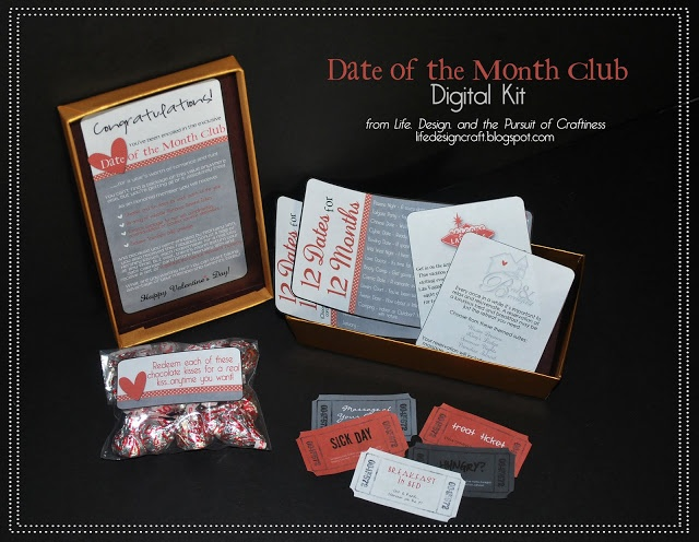 A date of the month kit....completely personalized....AWESOME~ LOVE THIS!
