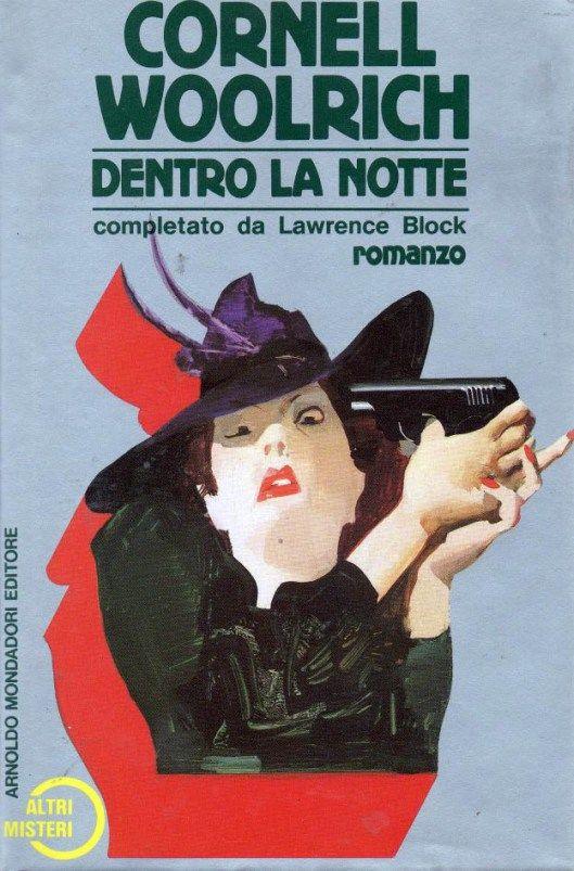 """Illustrazione di Ferenc Pintér per """"Dentro la notte"""" (Into the Night, 1987) di Cornell Woolrich, prima edizione """"Altri Misteri"""" Mondadori del 1988. #CornellWoolrich #FerencPinter"""