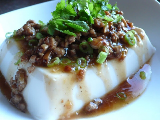 Steamed tofu with minced pork | Recipe Swap | Pinterest