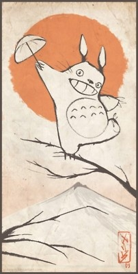 totoro -Hayao Miyazaki. Some of the greatest movies ever!!!!!