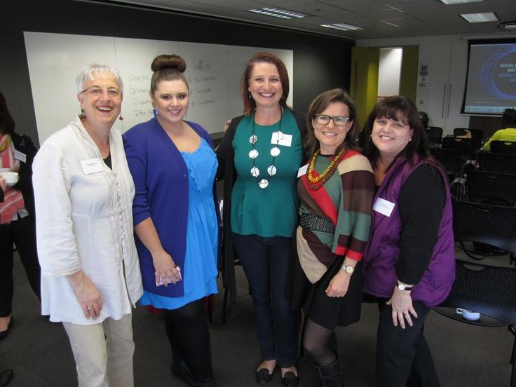 Danita Needleman, Tiz at Ajunjo, Meg Bakic, Elise Harper and Julia Sawicki getting ready to hunt!    http://www.videosocialmarketing.net  http://www.shebusiness.com