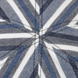 Lierys Gatsby Sailor Stripes Flatcap Baumwollcap Schirmmütze Schiebermütze Sommercap Lierys