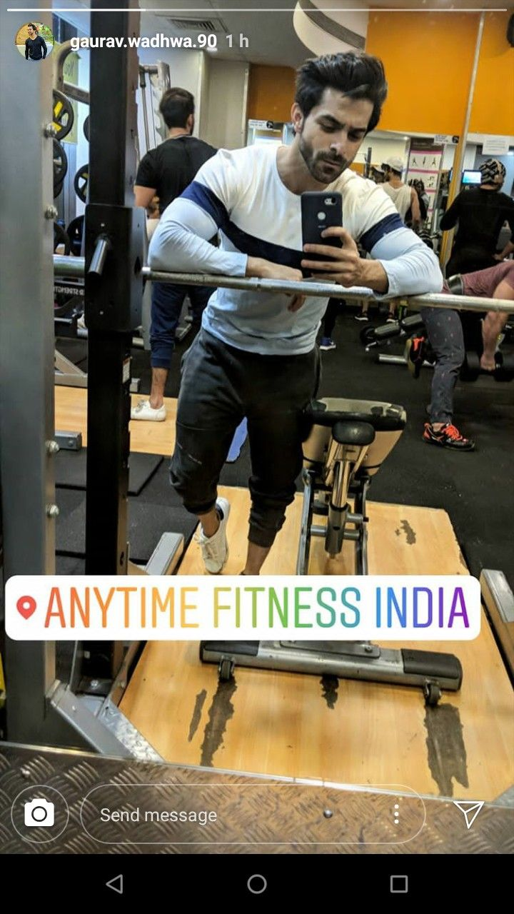 Gourav Wadhwa Gym Wear Gym Wear Anytime Fitness Gym