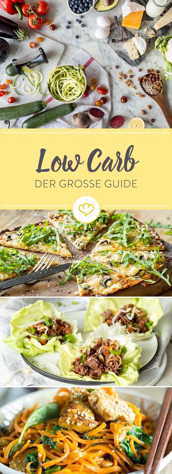 Low Carb - was heißt das eigentlich genau? Was darfst du essen? Und was hat es mit Kohlenhydraten auf sich? Dieser Guide beantwortet alle deine Fragen.