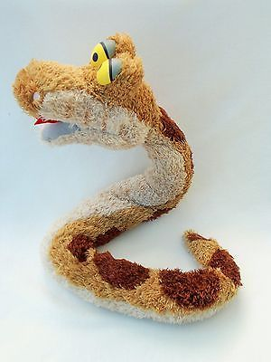 Jungle Book Snake Kaa Cuddly Teddy Soft Toy Plush Disney Store