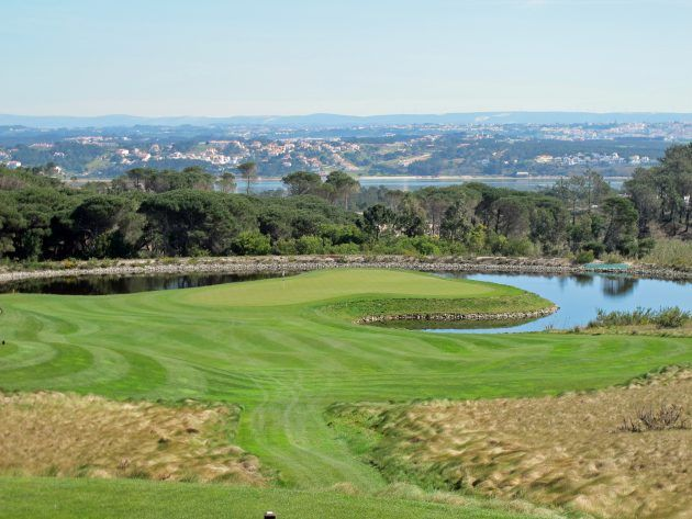 Golf in Central Portugal - via Golf Monthly 12-02-2017   Portugal has plenty of well-known golfing hotspots, but the central region is also blessed with some refreshingly varied golf... Photo: As pretty as a picture, the par-3 third at Royal Obidos