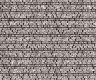 Cobblestone Paper 4 Sheets O Scale Dollhouse Mini