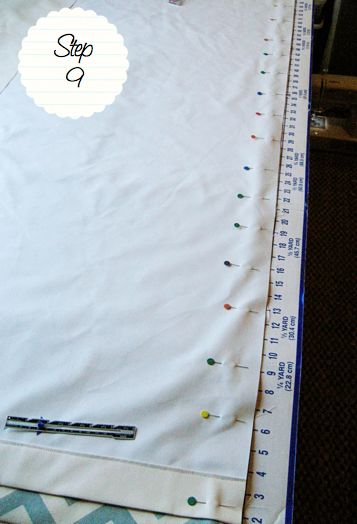 How to make drapes with a lining tutorial
