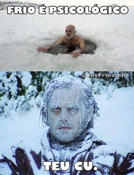 Ai esse frio...