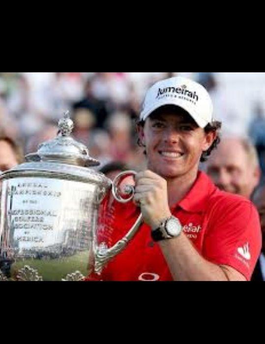 Rory McIllroy USPGA Champion