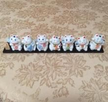 Seven Lucky Gods (Japanese Porcelain Figures) | Figurine, Ornament | $30.00 AUD | buyniknaks.com