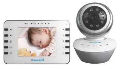 Weewell WMV855 Dijital Bebek İzleme Cihazı 300 mt