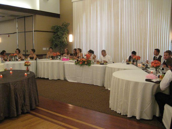 the head table head tablesreception layoutwedding