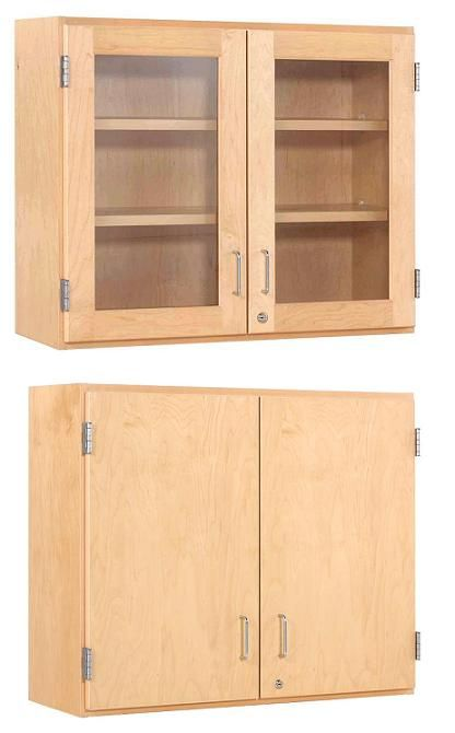 Lovely Lab Storage Cabinet with Glass Doors