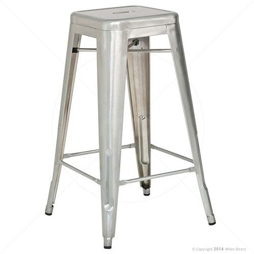 Vintage Metal Cafe Bar Stool - - Buy the Bar Stools Online and Outdoor Bar Stools from Milan Direct  sc 1 st  Pinterest & 9 best Bar Stools images on Pinterest | Kitchen stools Modern bar ... islam-shia.org