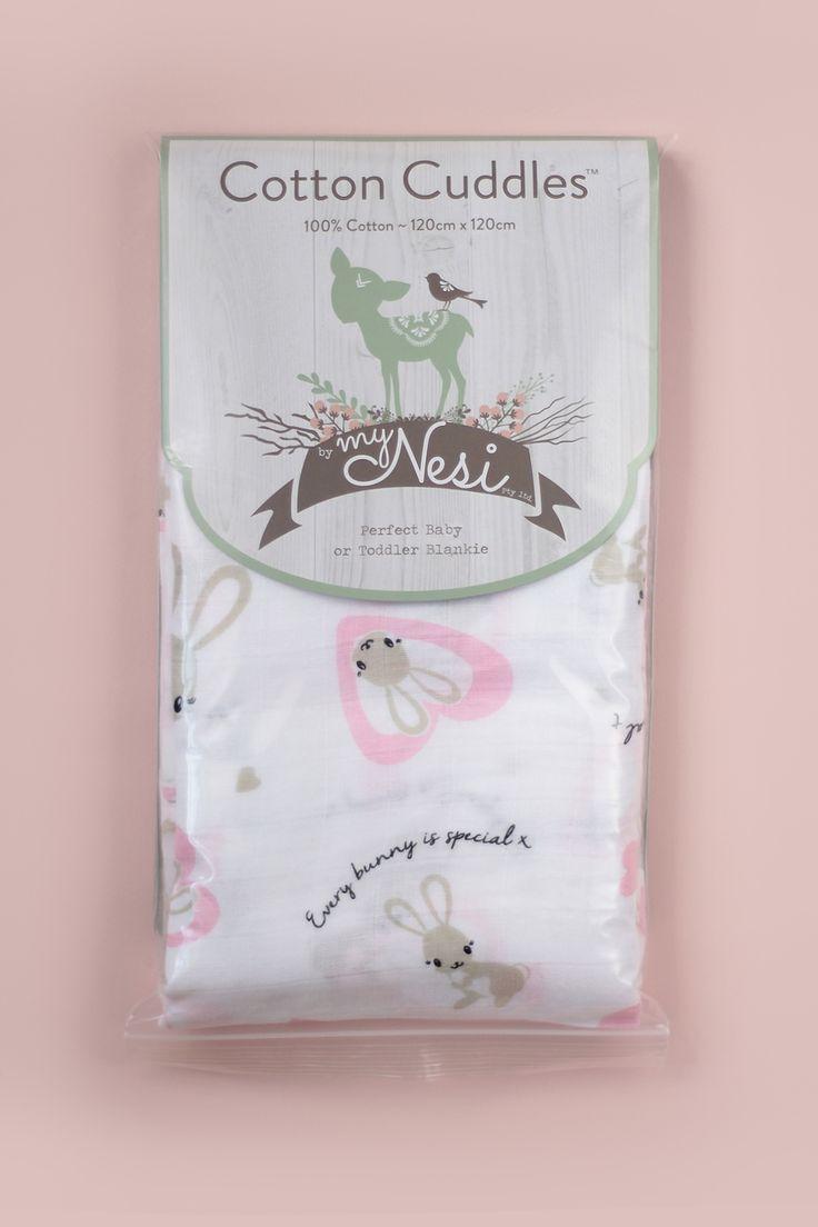 Cotton Cuddles – Pink Bunnies