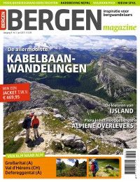 2x Bergen Magazine € 9,50: In Bergen Magazine draait alles om passie voor bergsport, waarbij alle aspecten van de bergbeleving aan bod komen.