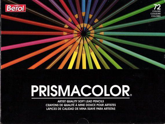 Berol Prismacolor 72 pc. Set 1993 © gama en caja por PencilsNSuch
