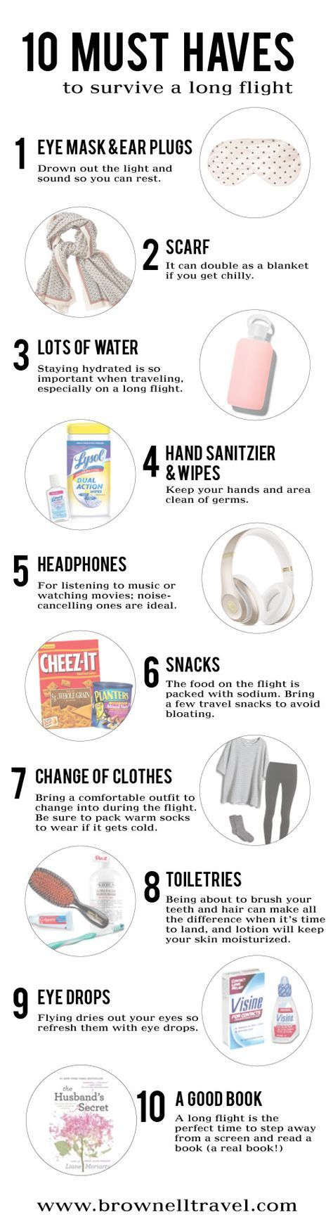 Don't leave home without these 10 must haves!