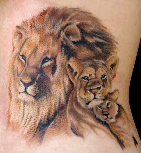 Female Lion Tattoos For Women