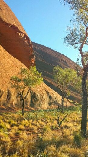 Ayers Rock Red Centre Northern Territory Outback Australia