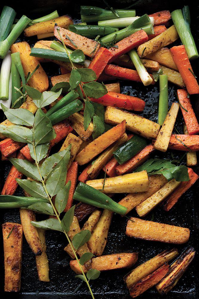 La lime apporte une pointe d'acidité et de fraîcheur à ce plat de légumes-racines inventé par le chef Yotam Ottolenghi.