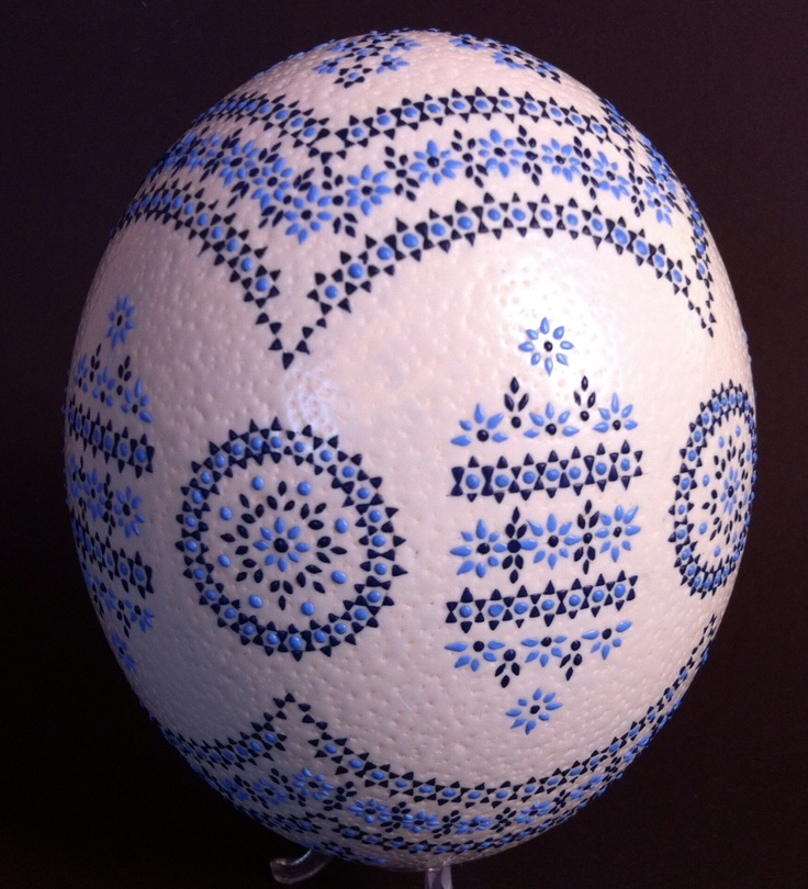 sorbische ostereier sorbian easter eggs strau enei. Black Bedroom Furniture Sets. Home Design Ideas