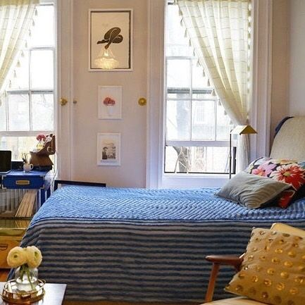 5 Ways to Layout a Studio Apartment (Click link above in our profile to read the post on Apartment Therapy!)