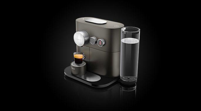 Expert Anthrazit Grau | Smarte Kaffeemaschine | Nespresso