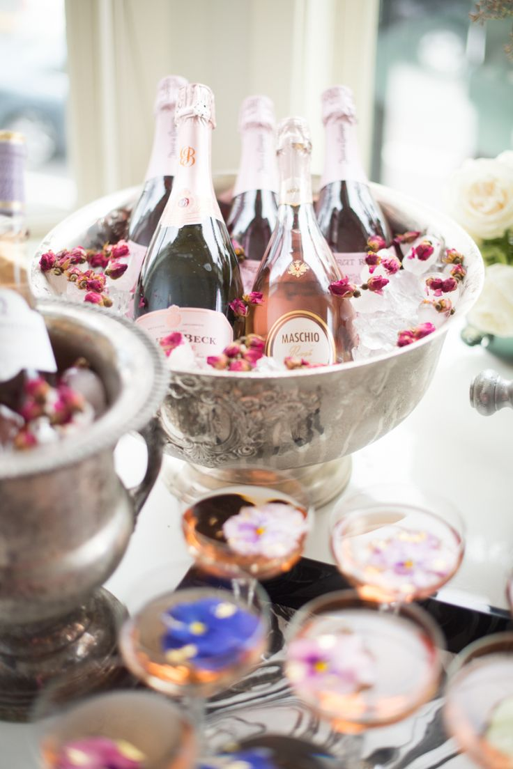 Rosé Bar ideas for Valentine's Day Photography: Abby Jiu - www.abbyjiu.com   Read More on SMP: http://www.stylemepretty.com/2016/01/28//