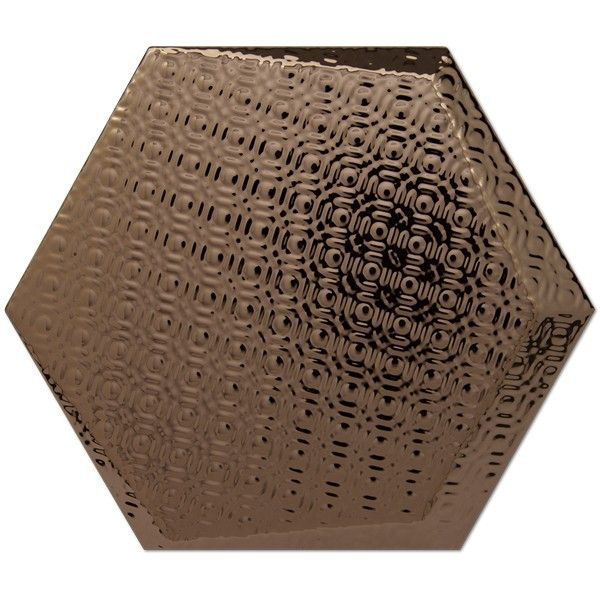 Kolekcja Hexagono Cuna - płytki ścienne Dec Cuna Bronce 17x15