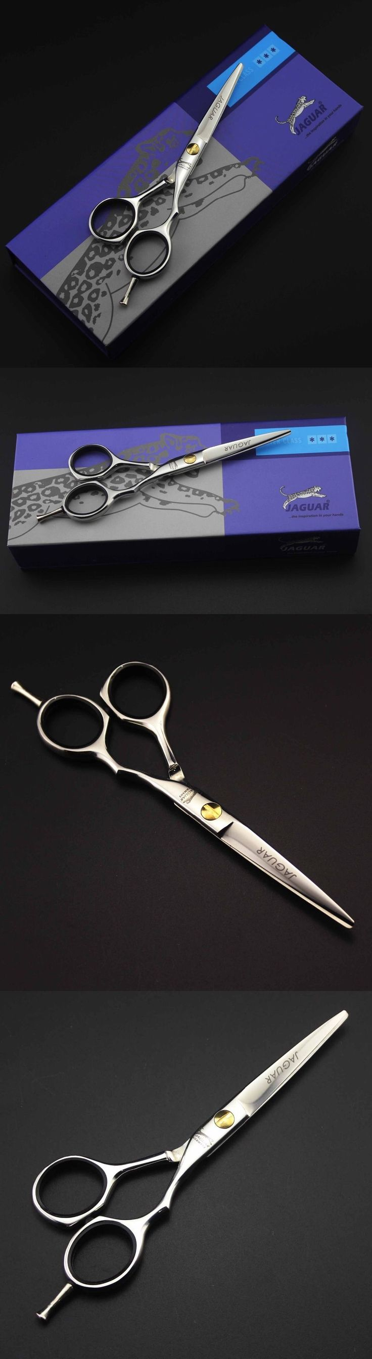 Scissors and Shears: Barber Salon Hair Professional Thinning Scissors Shears Hairdressing New Jaguar -> BUY IT NOW ONLY: $49.95 on eBay!