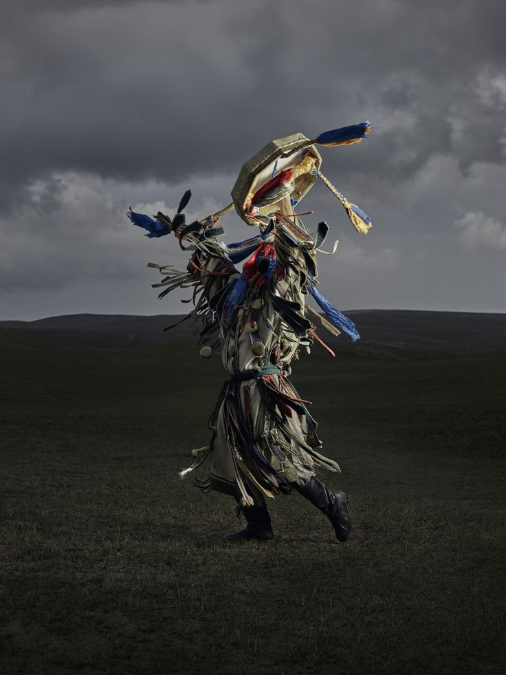 Shamans from Inner Mongolia, done in collaboration with Gem Fletcher