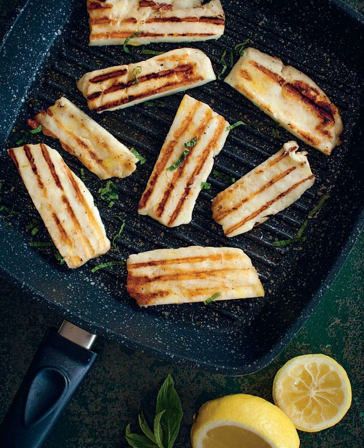 Grilled haloumi by Ben O'Donoghue | Cooked