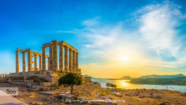 Temple of Poseidon by Stephane Dionyssopoulos on 500px