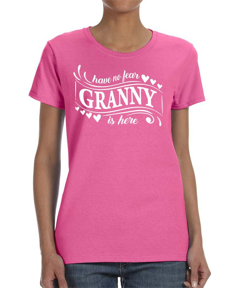 Have No Fear Granny Is Here Women T-shirt Granny Shirt Gift for Granny by WildWindApparel on Etsy